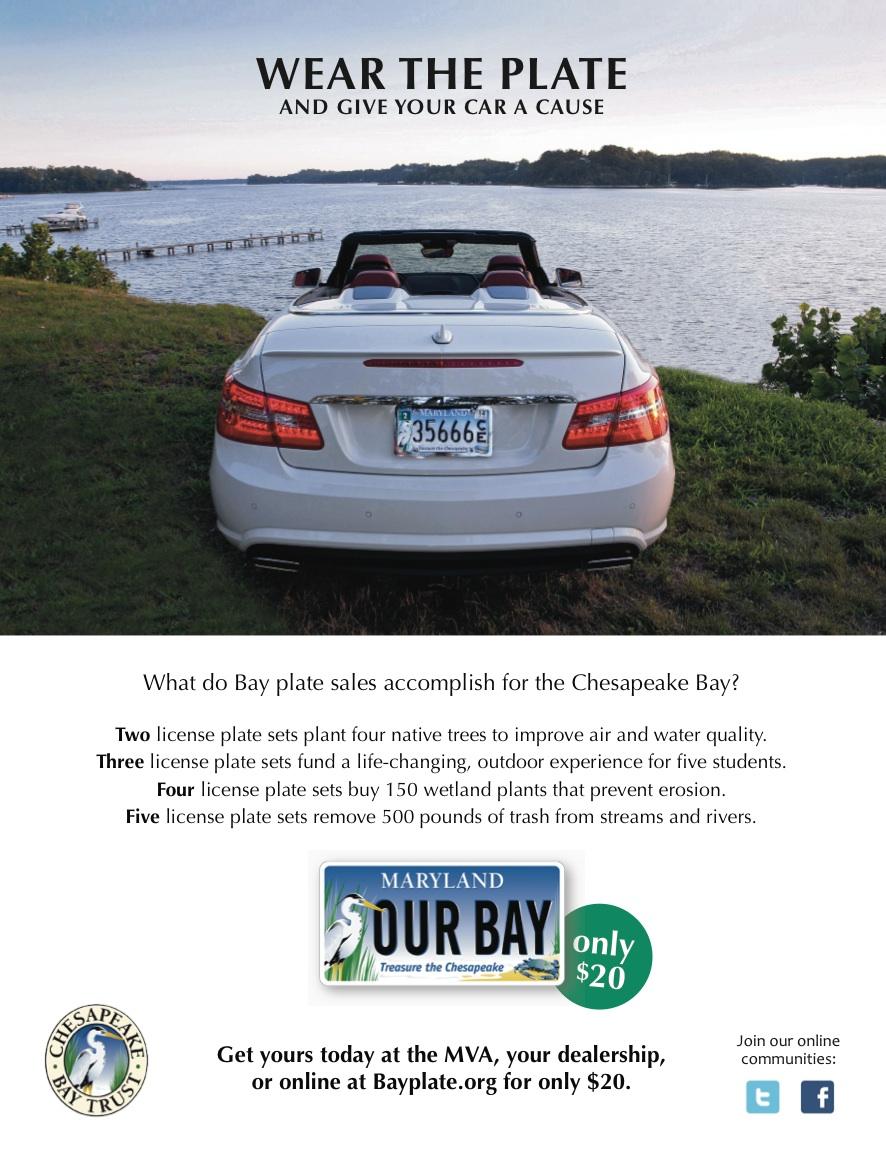 Chesapeake bay Trust Bay Plate Ad