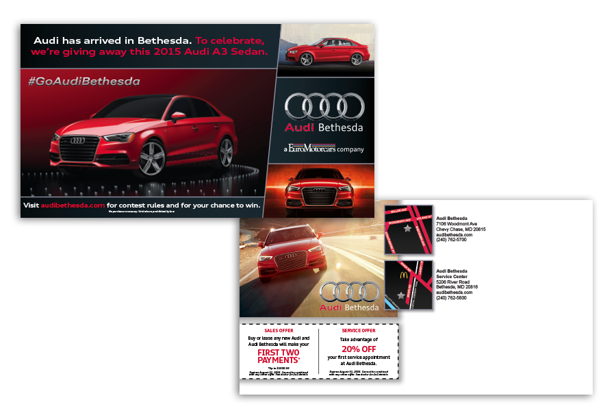 audi direct mail copy