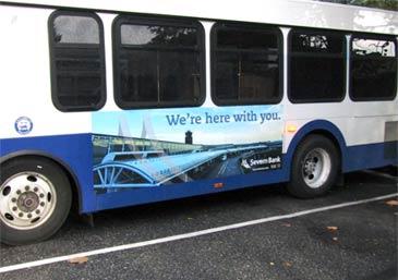Severn Bank Bus Wrap
